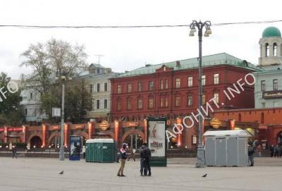 Уцелевшие строения бывшего Никольского монастыря в Москве (Иверского подворья)