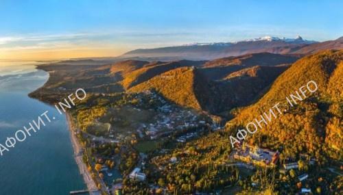 Абхазия. Ново-Афонский Симоно-Кананитский монастырь