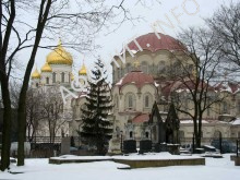 Воскресенский Новодевичий монастырь Санкт-Петербурга