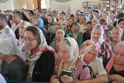 В Орел принесены мощи преподобного Силуана Афонского