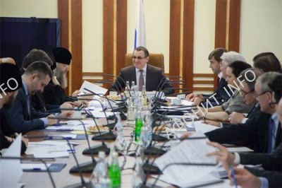 Заседание Оргкомитета IV Рождественских парламентских встреч, Москва, Совет Федерации, 27 ноября 2015 г.