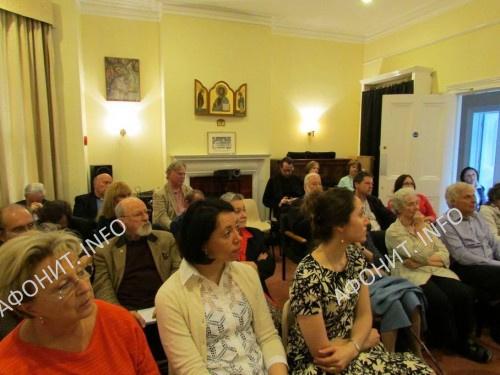 В Оксфорде директор Международного института афонского наследия Сергей Шумило рассказал о наследии Афона