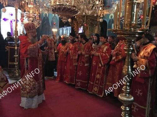Панигир в Пантелеимоновом монастыре на Афоне