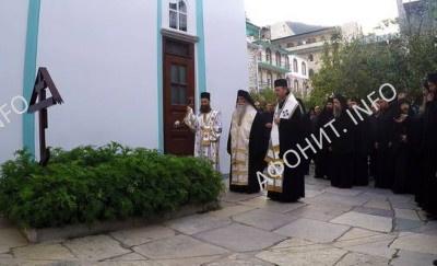 Заупокойная лития на могиле старца Иеремии (Алехина), 40 дней