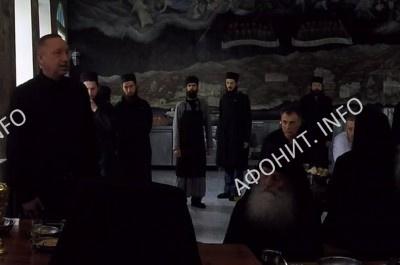 А. Д. Беглов выражает соболезнование по случаю смерти игумена Иеремии (Алехина)
