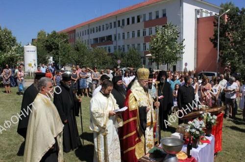 Глава св. влмч. Пантелеимона посетила город Враца в Болгарии