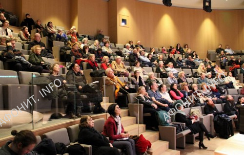 Лекция директора МИАН Сергея Шумило в Париже о древнерусском монашестве на Афоне, 27 января 2018 г.