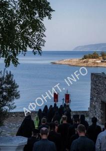 Пасха в Афонском Пантелеимоновом монастыре