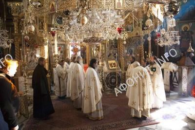 Пасха в Русском Пантелеимоновом монастыре на Афоне