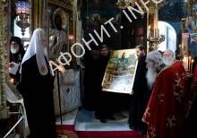 Икона Собор Святых Русских Афонитов
