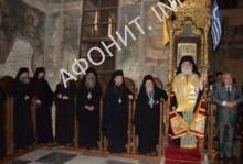 Патриарх Александрийский Феодор на Афоне
