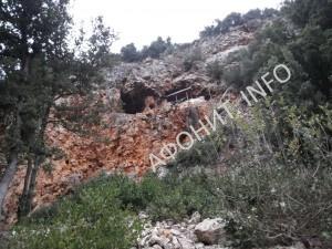 Пещеры Зографского монастыря на Афоне