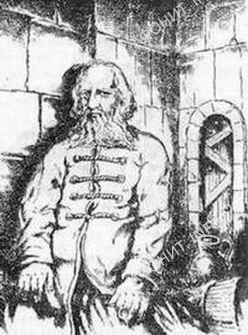 Святой праведный Петр Калнышевский в заточении