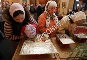 В Петербург доставили святыни из афонского монастыря Хиландар