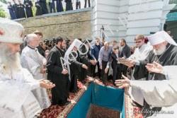 Похороны митрополита Киевского Владимира (Сабодана)