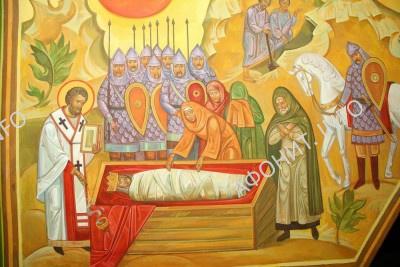 Похороны князя Оскольда Аскольда