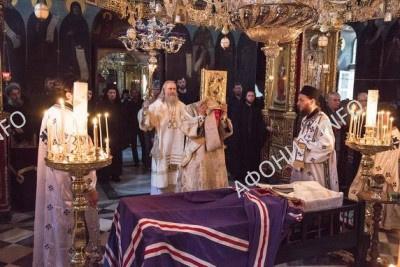 погребение Игумена Афонского монастыря