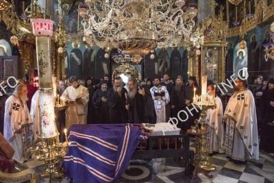 Прот Святой Горы схимонах Варнава