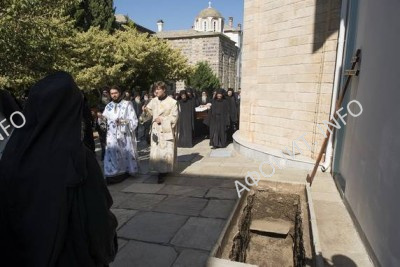 погребение Игумена Иеремии (Алехина)
