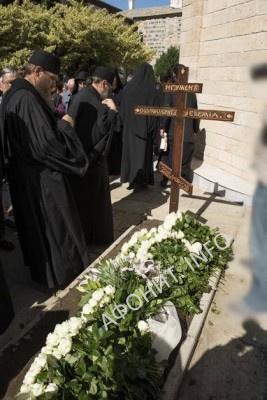 погребение Игумена Афонского