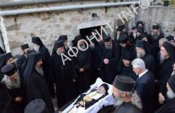 проигумен Афонского монастыря Григориат архимандрит Георгий (Капсанис)