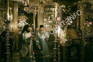 Похвала Богородице в Русском на АфонеПантелеимоновом монастыре