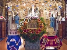 Панигир Покрова Божией Матери в Русском на Афоне Пантелеимоновом монастыре