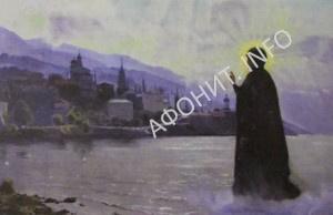 Чудесное явление Божией Матери в Пантелеимоновом монастыре на Афоне
