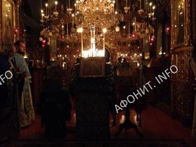 Праздник Покрова в Русском Пантелеимоновом монастыре на Афоне
