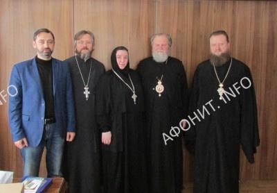 встреча делегации УПЦ с Архиепископом Пражским и Чешских земель Михаилом