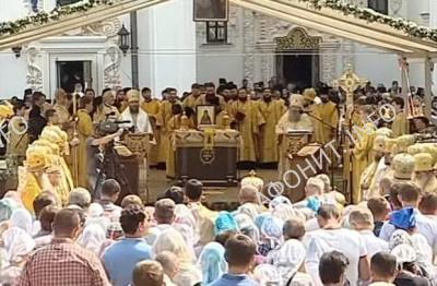 Торжества прославления преподобного