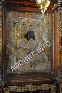 Икона Божией Матери «Достойно есть» («Аксион Эстин») на Афоне