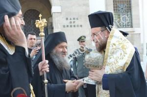 С Афона на Родос доставлены мощи св. Никиты Готского