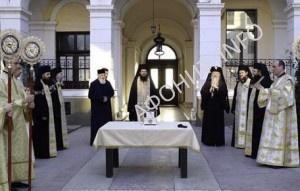 Мощи святителя Нектария Эгинского в Румынии