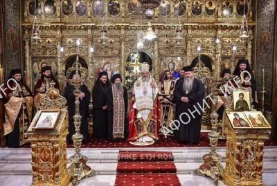 Мощи Марии Магдалины из афонского монастыря Симонопетра доставлена в Румынию