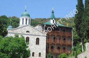 Храм в честь Всех Святых Русских Государей в Пантелеймоновом монастыре на Афоне