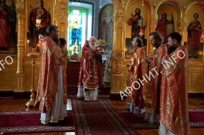 Делегация РПЦ в Старом Русике, 12 августа 2016 г.
