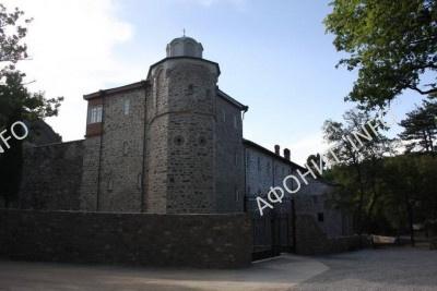 Старый Русик, башня свт. Саввы Сербского. Фото Сергея Шумило