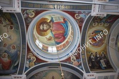 Росписи в соборе скита Старый Русик