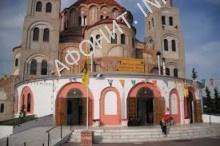 Храм в Салониках в районе Полихни