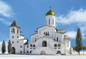 Проект русского храма в Салониках