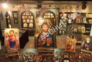Выставка икон Афона