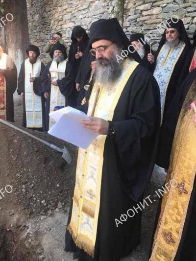 На Афоне преставился старец Серафим Агиааннинский