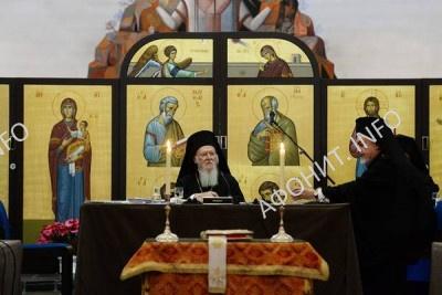 Синаксис Предстоятелей Поместных Православных Церквей в Шамбези (Швейцария), 22 января 2016 года
