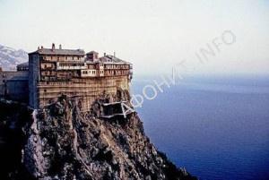 Афонский монастырь Симонопетра