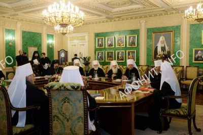 Синод РПЦ подвел итоги празднования 1000-летия русского присутствия на Афоне