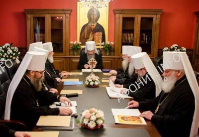 Синод УПЦ: празднование афонского юбилея было важным событием 2016 года