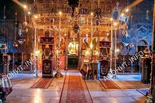 Скит святой праведной Анны на Горе Афон