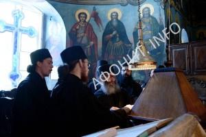 Монастырский хор Русского на Афоне Свято-Пантелеимонова монастыря