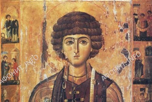 Святой великомученик Пантелеимон. Икона начала XIII века